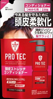 ライオン PROTEC頭皮ストレッチコンディショナー つめかえ用 230g