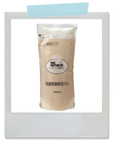 パックスナチュロン 洗濯用液体石けん 詰替用 780ml