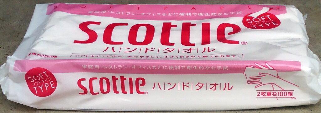スコッティ ハンドタオル100 200枚 まとめ買い1ケース60袋入り