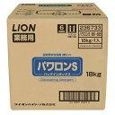 【送料無料】業務用食器洗剤 ライオン NパワロンS 液体18L
