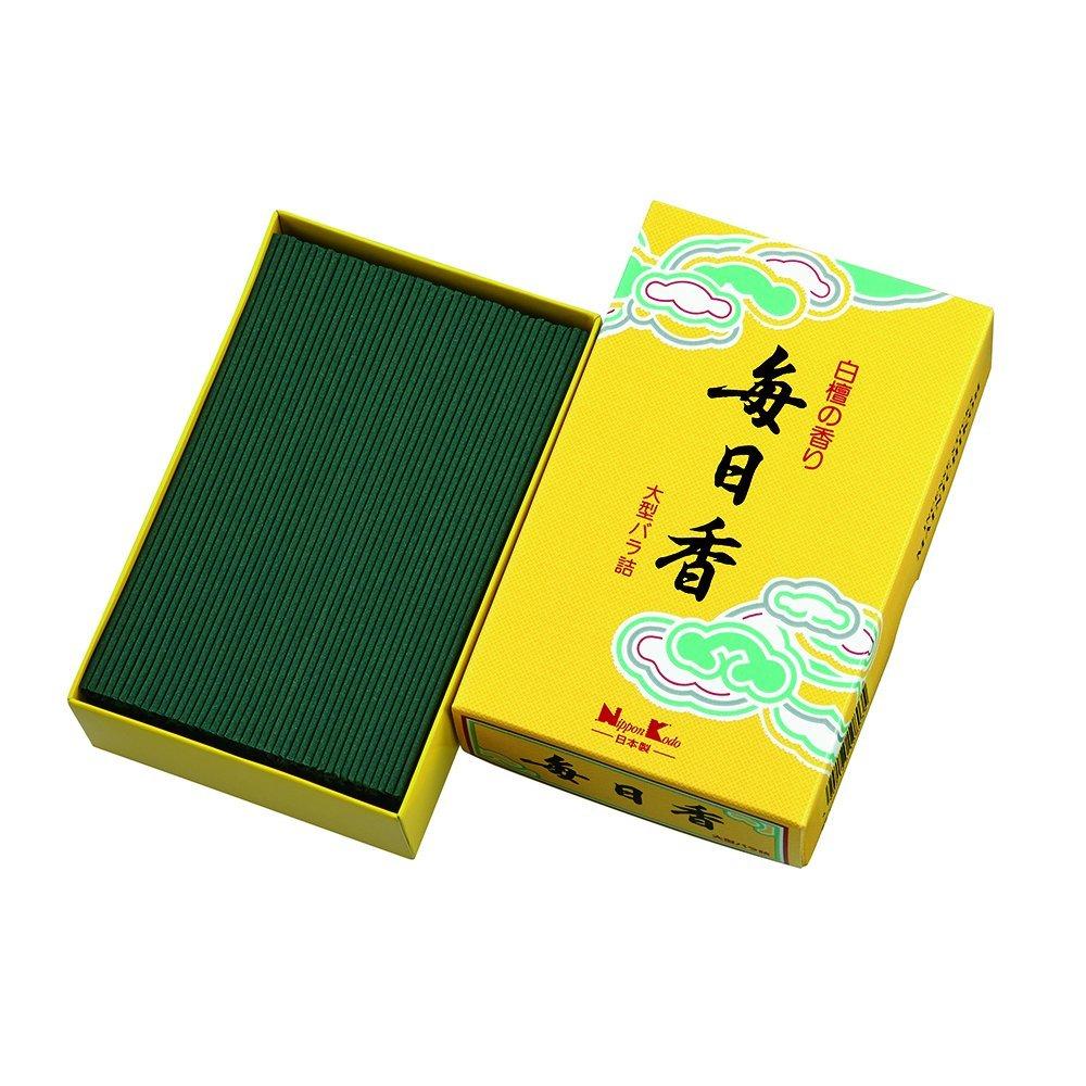 日本香堂 毎日香 黄箱 大型 #10803