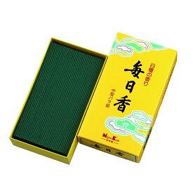 日本香堂 毎日香 黄箱 中型 #10802