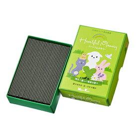 日本香堂 ペット用お線香 ハートフルメモリー 草原の香り