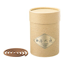 日本香堂 伽羅大観 コイル20巻 商品番号#569