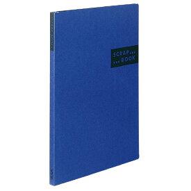 コクヨ スクラップブックSスパイラルとじ・固定式B4クラフト40枚青 品番:ラ-414B