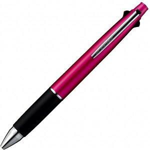 ジェットストリーム 4&1多機能ペン [黒/赤/青/緑+シャープペンシル] 0.7mm ピンク MSXE5-1000-07