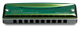 スズキ 10穴ハーモニカ OLIVE C-20 C調