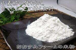 【おおすみファームで育てたこしひかりを使っています】米粉500g 鹿児島 九州 お漬物 おおすみファーム 米粉 こしひかり