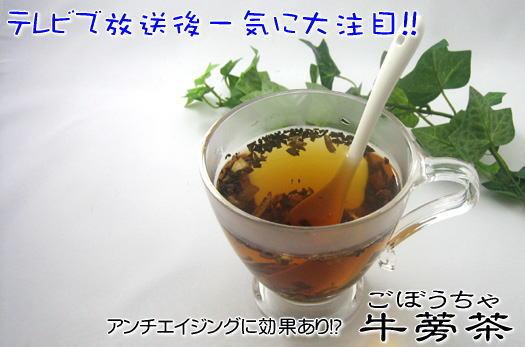 牛蒡茶90g(1か月分)×6袋【送料無料】10P03Sep16