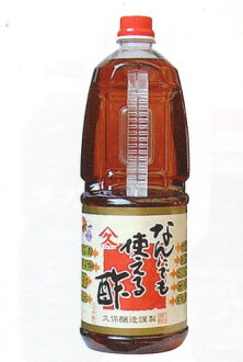 What's usable vinegar economical 1.8 l 1 box (6 bottles) Kagoshima seasonings vinegar with Kubo brewing Ku Kyushu Super Sale SUPER SALE 10P01Mar15