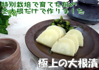 Super Delicious winter radishes only at making daikon pickles 10 soaked pickled radish radish Kyushu Kagoshima set ohsumi farm