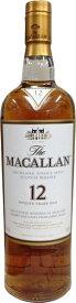 マッカラン 12年【シェリーオーク】700ml 正規 送料無料 高級 おすすめ 人気 ギフト 家飲み お酒