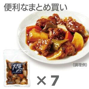 大戸屋公式<冷凍食品>豚肉と野菜の黒酢あん×7袋セット