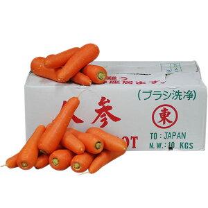 【箱売り】 中国にんじん(人参) 1箱(約10kg) 【業務用・大量販売】【RCP】