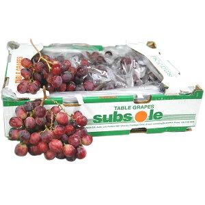 【箱売り】 レッドグローブ(ブドウ・葡萄) 1箱(約8,2kg入り) 輸入ぶどう チリ産 【業務用・大量販売】 【RCP】