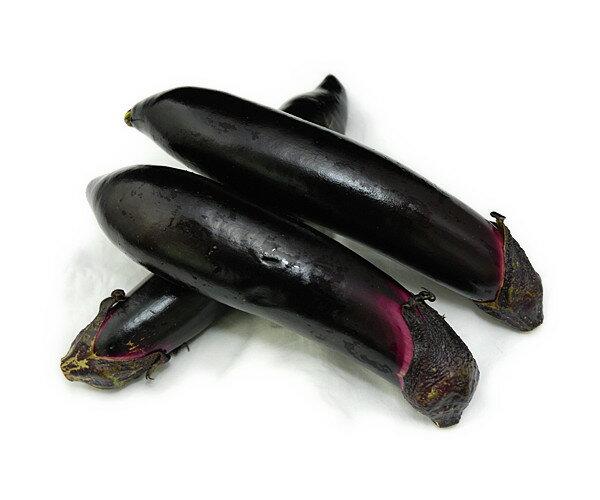 九州産 皮に含まれる色素の成分が血管をきれいに! なす(ナス・茄子・なすび・ナスビ) 3本 九州の安心・安全な野菜! 【九州・福岡・熊本産】