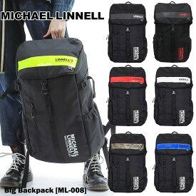 【送料無料】Big Backpack トス パック MICHAEL LINNELL マイケルリンネル カブセ リュックサック MENS LADIES UNISEX ユニセックス STREET ROYAL MAIL イギリス GO OUT OUTDOOR アウトドア ml-008