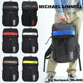 【送料無料】MICHAEL LINNELL マイケルリンネル カブセ リュックサック Big Backpack トス パック メンズ レディース 男女兼用 ユニセックス ストリート 郵政公社 イギリス GO OUT OUTDOOR ml-008