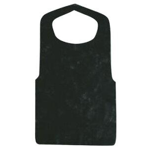 使い捨て クリーンエプロン 八ッ折(50枚入)黒【使い捨てエプロン】【前掛け】【不織布エプロン】