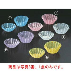 金箔カップ(500枚入)桃 M33-558【使い捨てフィルムケース】【フィルムカップ】【おかずカップ】