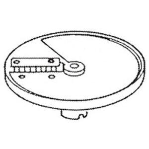 ロボクープ 野菜スライサー CL-52D・CL-50E用刃物円盤 角千切り盤 2mm×8mm【野菜スライサー フードスライサー 業務用スライサー】【robot coupe】【エフエムアイ】【業務用】