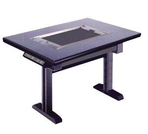 鉄板焼テーブル (カーボン ランプヒーター) IC-109KZ 鉄(黒)【業務用鉄板焼機 電気鉄板焼き器】【代引不可】【グリドル】【鉄板焼き】【お好み焼き】【焼きそば】【業務用】