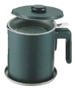 ブラック・フィギュア オイルポット D-048 1.5L 【業務用油缶】【フライヤー】【網】【油受け】【カス取り】【業務用】