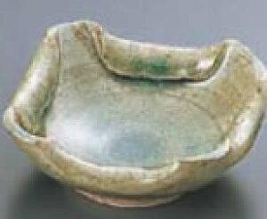 灰釉折り込灰皿 T03-71【灰皿】【陶器】【業務用】
