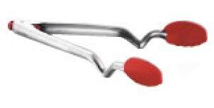 ドリームファーム クリックトング 9インチ レッド【取り分けスプーン】【はさみ】【掴み】【業務用】
