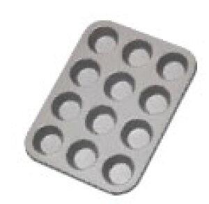 フッ素樹脂 ベイクウェアー No.57306 ミニマフィンパンケーキ 12P【製菓用品】【業務用】