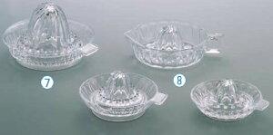 ガラス製レモン絞り 中 004 【絞り器 スクイザー】【喫茶用品 製菓用品】【業務用】
