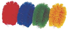 ニューカラータワシ(8個入) 緑 【清掃道具 掃除道具】【たわし】【ブラシ】【汚れ落とし】【業務用】