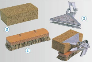 ハイポール用ブラシ 【清掃道具 掃除道具】【業務用】