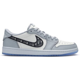 【国内配送】DIOR × Nike Air Jordan 1 LOW ディオール ナイキ エアジョーダン1 コラボレーションモデル ローカット スニーカー ブラック 選べる サイズ 新品未使用 最新 人気 靴 稀少