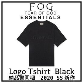 【国内配送】2020 FOG FEAR OF GOD ESSENTIALS フォグ フィアオブゴッド エッセンシャル フロントロゴ Tシャツ ブラック 選べるサイズ 新品未使用 最新 人気 稀少