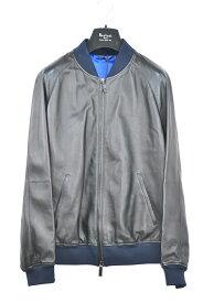 【国内配送】BERLUTI 1895 ベルルッティ レザー ボンバージャケット ブルゾン ネイビー 選べるサイズ 未使用 最新 人気 稀少