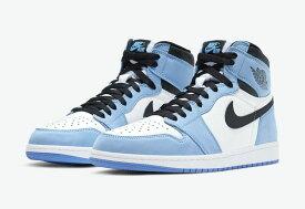 """Nike Air Jordan 1 Retro High OG """"University Blue""""ナイキ エアジョーダン1 レトロ ハイ ユニバーシティー ブルー"""