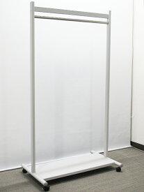 コートハンガー ハンガーラック ハンガーポール パイプハンガー クローゼットハンガー ハンガーパイプ コート掛け W900×D530×H1645【中古オフィス家具】【中古】