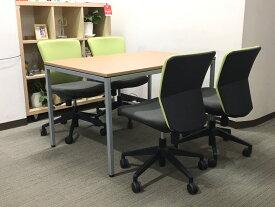 会議テーブル 会議用テーブル ミーティングテーブル W1200×D800×H720【中古オフィス家具】【中古】