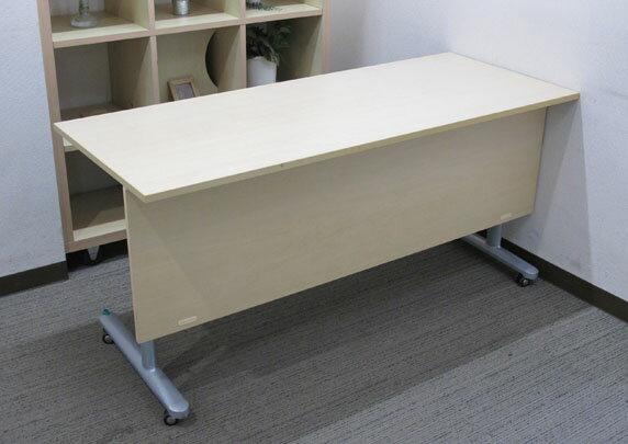 折りたたみテーブル 折り畳みテーブル ミーティングテーブル 会議テーブル【中古オフィス家具】【中古】