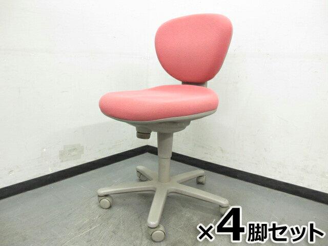 オフィスチェア キャスター付き 椅子 事務用 【中古オフィス家具】【中古】