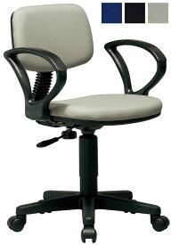 【ポイント10倍】 弘益 UTILITY オフィスチェア K-926 肘付き キャスター付き 椅子 事務用 3色あり 新品