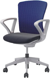 オフィスチェア ハイバック 肘付き キャスター付き 椅子 事務用 6色あり 新品