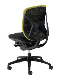 送料無料 新品 「Yera(イエラ) オフィスチェア ローバック 肘なし」 事務チェア パソコンチェア 椅子 いす イス 7色あり