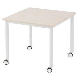 テーブル 会議テーブル ミーティングテーブル 会議用テーブル ミーティング用テーブル センターテーブル キャスター付き 2色あり テレワーク 家具 在宅 勤務 リモートワーク コワーキング