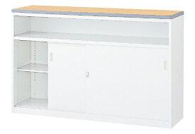 ハイカウンター 受付カウンター インフォメーションカウンター W1500×D454×H950 選べる2色