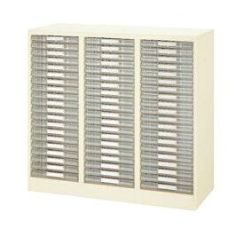レターケース 書類ケース フロアケース 整理ケース キャビネット B4対応 下置き用 床置形【完成品】