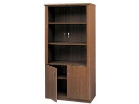 送料無料 新品 木製 キャビネット W900mm 書棚 書庫 飾棚 書斎 ウッドキャビネット