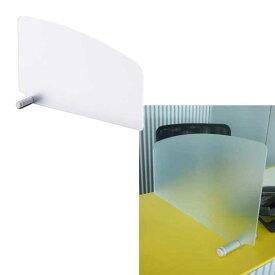 アクリルサイドスクリーン パーテーション 衝立 ブラインド デスク用 デスクパネル スクリーン 仕切り 間仕切り W580xH330