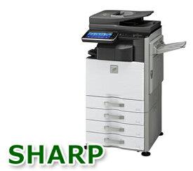 シャープ フルカラー複合機 コピー機 MX-3140FN【中古オフィス家具】【中古】